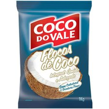 Coco Flocos Integral Umido Do Vale 1kg
