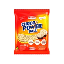 Cereal Power Micro Ball Chocolate Branco 300g - Mavalério Un