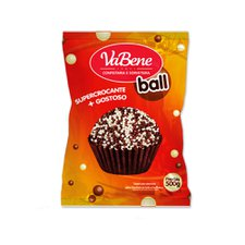 Cereal Mini Ball Chocolate Ao Leite e Branco 500g - Vabene Un