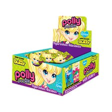 Chicle Buzzy Polly Pocket Hortelã 400g - Riclan 100Un