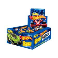 Chicle Buzzy Hot Wheels Tattoo Menta 400g - Riclan 100Un