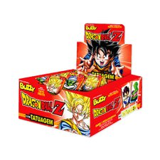 Chicle Buzzy Dragon Ball Tattoo Tutti Frutti 400g - Riclan 100Un