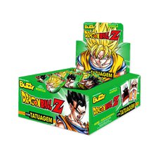 Chicle Buzzy Dragon Ball Tattoo Hortelã 400g - Riclan 100Un