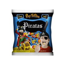 Pirulito Pop Tattoo Piratas 400g - Boavistense Un