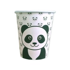 Copo de Papel 200ml Panda - Art Lille 10Un