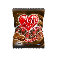 Bala My Toffee Chocolate 600g - Riclan Unidade