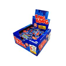 Chicle Buzzy King Kong Tattoo Tutti Frutti - Riclan 100Un