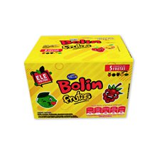 Chicle Bolin Frutas 180g - Arcor Unidade