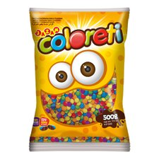 Coloreti Mini Colorido 500g - Jazam Un