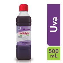 Pedialyte 60 Zinco 500ml sabor uva