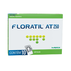 Floratil AT 250mg com 10 cápsulas