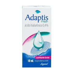 Adaptis Fresh 0,4% Lubrificante Ocular Com 10 Ml