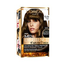 Tintura Imédia Excellence L'Oréal Fashion Paris Cor: Bronde Rock N° 6.170