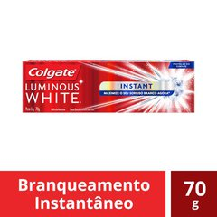 Creme Dental Colgate Luminous White Instant 70g