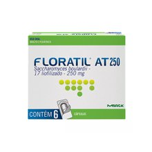Floratil AT 250mg 6 cápsulas
