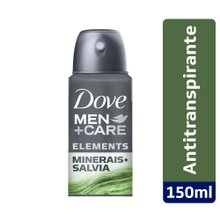 Desodorante Dove Men+Care Minerais e Sálvia aerosol 150ml