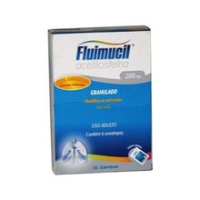 Fluimucil 40mg granulado 6 envelopes com 5g (200mg)