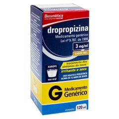 Dropropizina - Biosintética 30mg/ml xpe adu fr x 120ml+ser dos