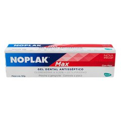 Gel Dental Noplak Max Max Gel Anti-Séptico 50g