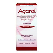 Agarol 0334 mg/ml + 28225 mg/ml + 272 mg/ml emu or ct fr plas opc x 240 ml (sabor morango)