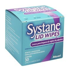Systane Lid Wipes cx 30 lencos umed.