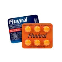Fluviral 6 Comprimidos