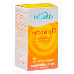 Equaliv Vitamina D 200ui/Gota Com 30 Ml