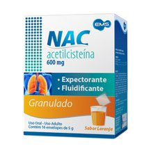 Nac 600 Mg Com 16 Envelopes