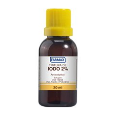 Tintura Iodo 2% Farmax 30ml