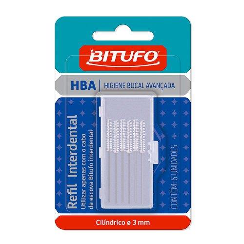 Refil para Escova Interdental Bitufo Cilíndrico 3mm   Farmácia ... 573323adcf