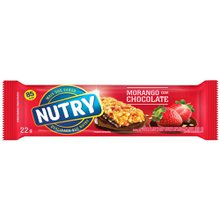 Barra De Cereais Nutry Light Morango Com Chocolate 22g