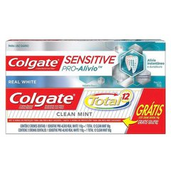 Creme Dental Colgate Sensitive Pro-Alívio - Promo Ganhe 1 Creme Dental Total 12
