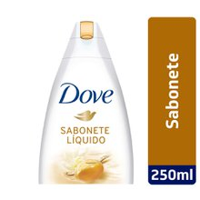 Sabonete Líquido Dove Delicious Care manteiga de Karité & Baunilha 250ml