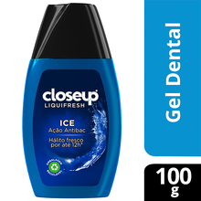 Gel Dental com Flúor Ice Closeup Liquifresh 100g