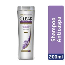Shampoo Anticaspa Clear Women Hidratação Intensa 200ml