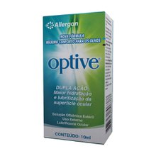 Optive 05 + 09% frasco com 10ml