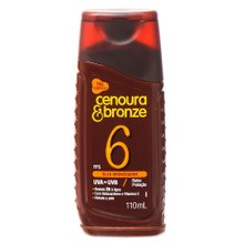 Bronzeador Cenoura & Bronze FPS 6 110ml