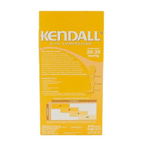 f4a3c96f9 Meia Calça Kendall Feminina Alta Compressão (20-30 mmHg) Ponteira Aberta  Tamanho G