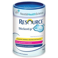 Resource Thicken Up Clear Nestle Health Science Espessante E Gelificante Lata 125g