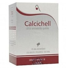 Calcichell 250mg pó oral caixa com 15 envelopes com 35g