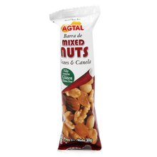 Barra de Mixed Nuts Nozes e Canela 30g