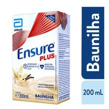 Suplemento Adulto Ensure Plus Sabor Baunilha 200ml