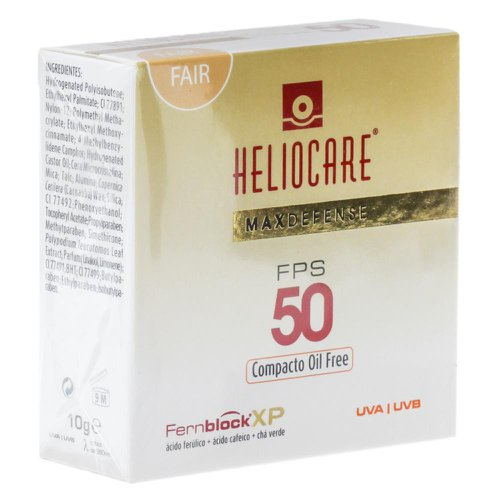 Heliocare Max Defense FPS50 Compacto Oil Free (fair) 10g 1a75f13915357