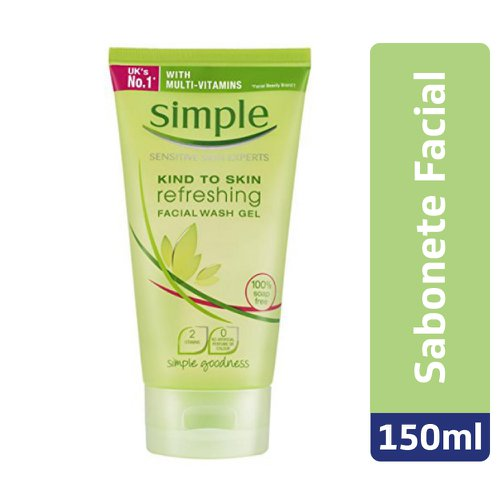 Sabonete Líquido Simple Facial Gel Refresh 150ml