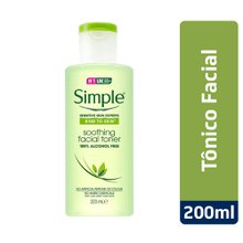Tônico Facial Simple Suave 200ml