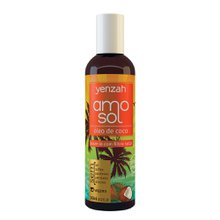 Leave-In Amo Sol  Praia e Piscina Yenzah  240ml