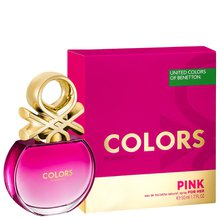 Perfume Feminino Benetton Colors Pink 50ml