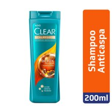 Shampoo Clear Women Detox Antipoluição 200ml