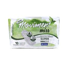 Absorvente Bigfral  Moviment Miss Super 10 unidades