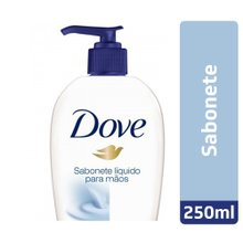 Sabonete Liquido Dove Mãos Beauty Cream Wash 250ml